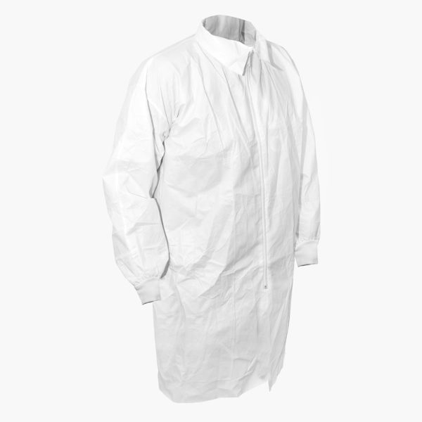 600-0070 INTEGRITY® Antistatic Disposable Lab Coat - Elasticated Cuff