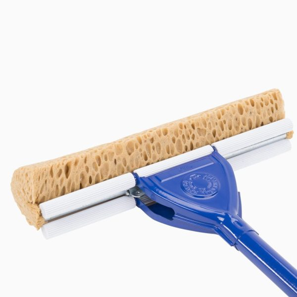 600-0200 INTEGRITY® Cellulose Sponge Mop with Handle - closer head back