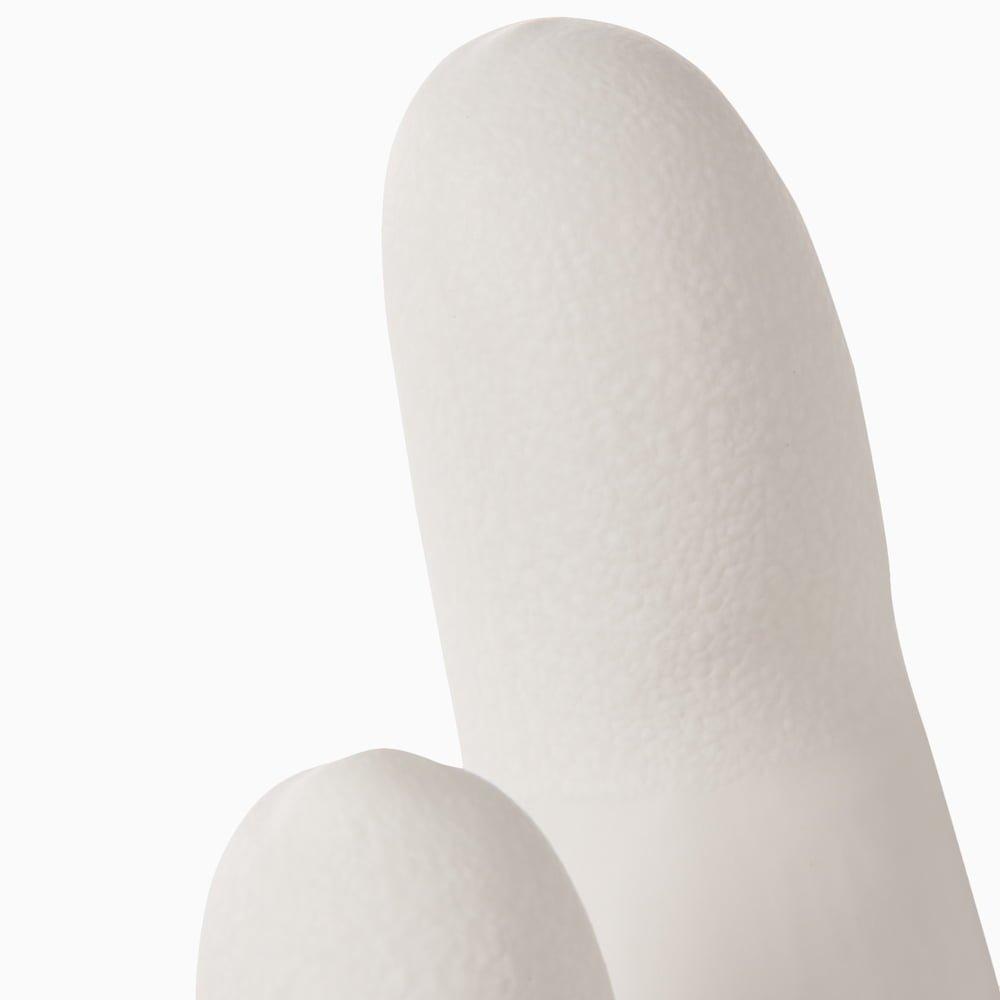 Nitrile glove white