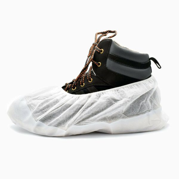 Cleanroom sticky shoe cover