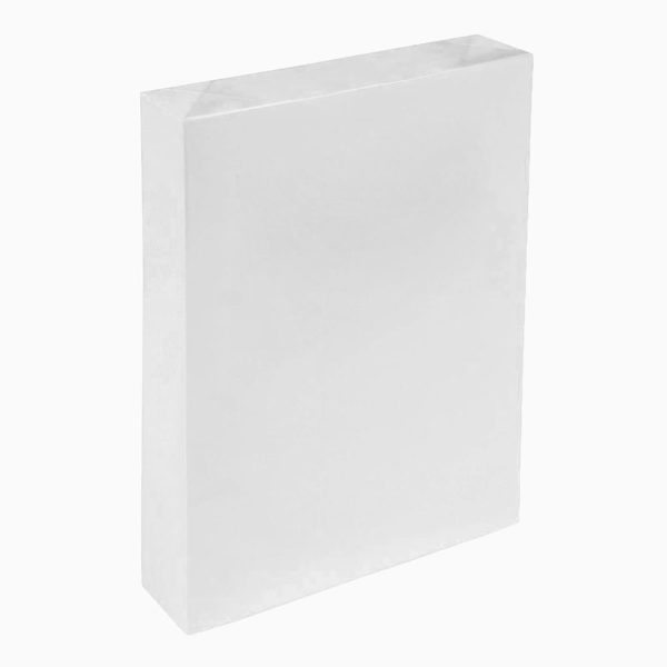 white cleanroom paper