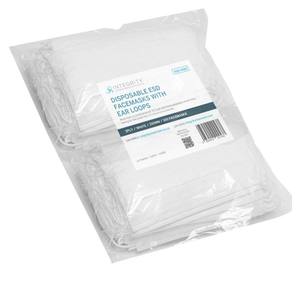 face mask bag for cleanrooms