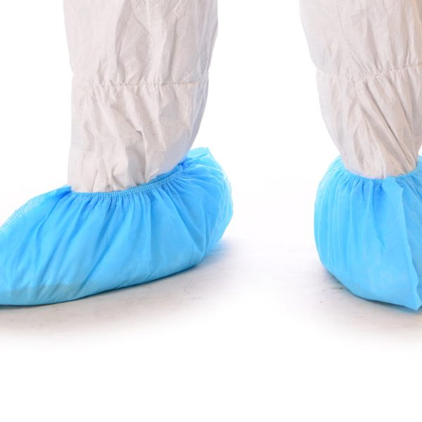 Integrity™ Anti-Skid Shoe Cover, Non-Woven Spunbond Polypropylene, Blue Photo