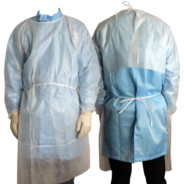 Integrity Cleanroom Isolation Gown - White